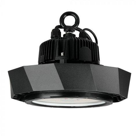 Lampe Industrielle LED 100W Ip65 High Lumens 160 Lm/W Noir Avec Puce Et Driver Samsung Variable 1-10V Evolution Vt-9-113 - Blanc Neutre - 4000k - 120 Deg V-TAC EVOLUTION