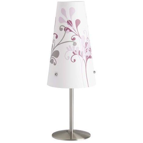 Lampe ISI 1x40W E14 ACIER LILAS