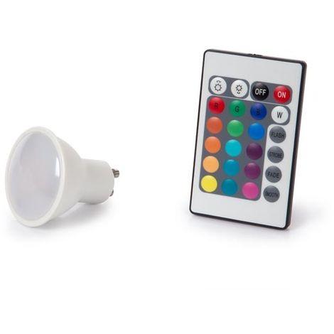 LAMPE LED - 4 W - GU10 - RVB & BLANC CHAUD VELLEMAN LAL3C5J