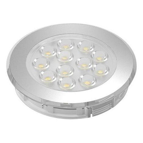 Lampe LED , Alu Op.nw, 12V, 2.3W, IP 44, 2m