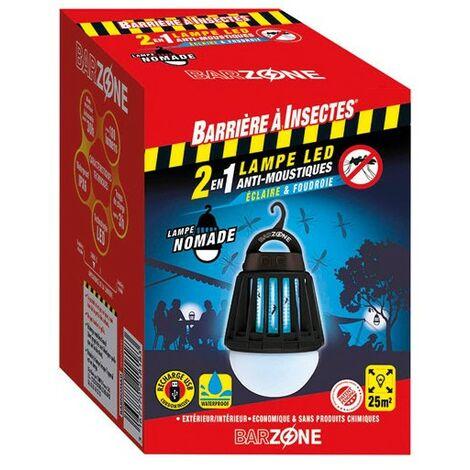 Lampe LED Anti-Moustiques 2en1