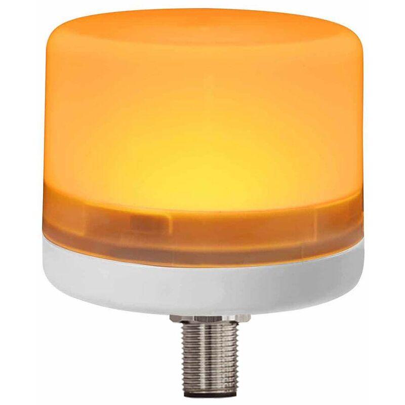 Lampe LED balise, Polycarbonate, 24 V c.c., Ambre, 14 LEDs , intensité: 15 mcd