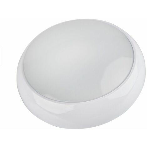 Lampe LED Cloison Secours 18W IP65 Capteur Mouvement Non-maintenu Autonomie 3h - White