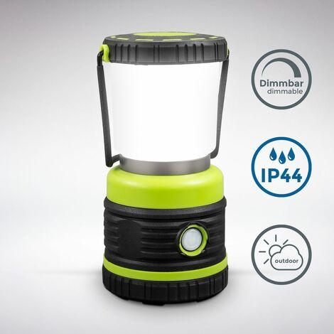 """main image of """"Lampe LED de camping I Extrêmement lumineuse I 1000 lumens I Gradation dynamique I Fonctionnement par piles I Poignée de transport"""""""