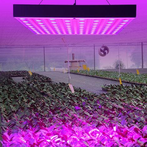Lampe LED Eclairage Horticole Plantes 45W lantes Pr Fleur Légumes de Serre Plantes Jardin