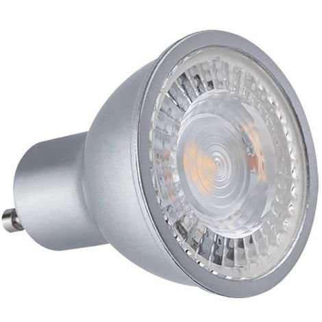 Lampe LED GU10 7W Dimmable angle large 120° Kanlux