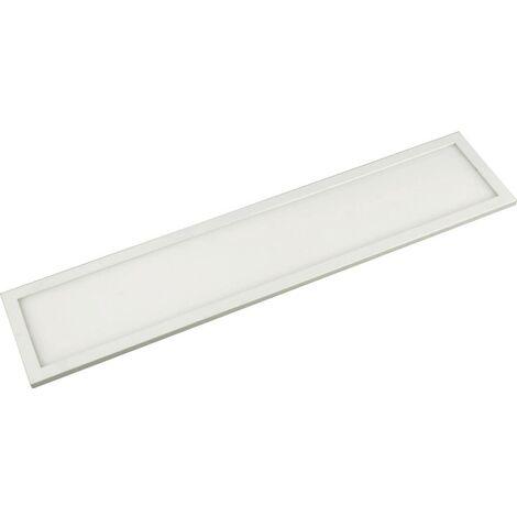 Lampe LED pour dessous darmoire avec détecteur 8 W 1x LED intégrée blanc chaud Megatron Unta Slim M MT70141 blanc 1 pc(s)