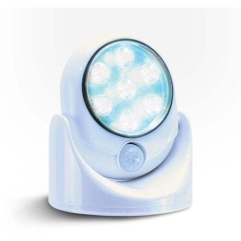 Lampe LED SENSORLIGHT avec détecteur de mouvement - Blanc - Blanc