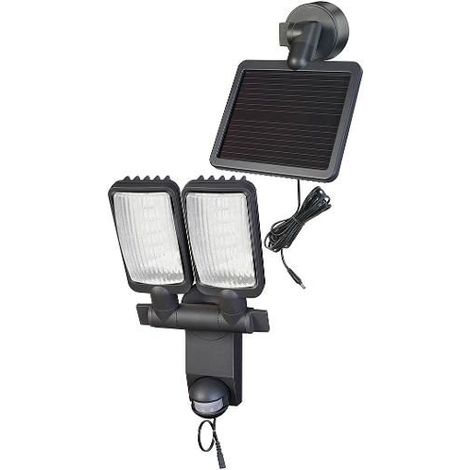 1179440 Lampe 480 Lumen Poli Led Brennenstuhl Verre Solaire Premium Duo Oy8Nnwvm0