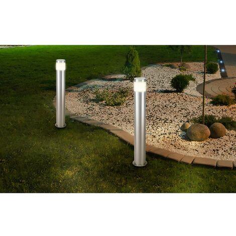 Lampe LED sur pied Renkforce Riva HY0002PSH-4/ 573c4 LED intégrée Puissance: 10.5 W blanc chaud N/A