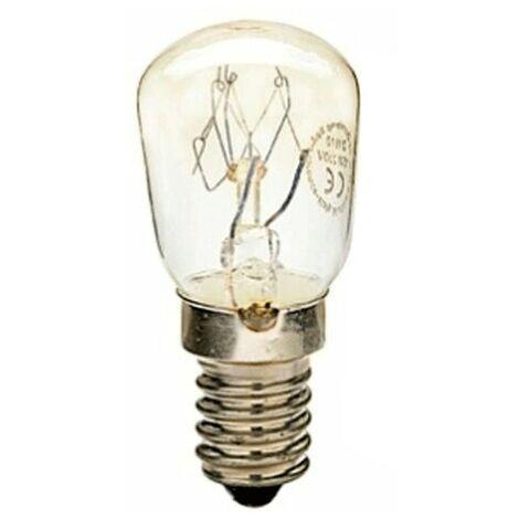 Lampe lentille ventilateur Duralamp pour Réfrigérateur E14 15W 25X57 00121