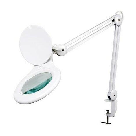 LAMPE-LOUPE LED 5 DIOPTRIES - 4W - 48 pcs - BLANC (RI3522)