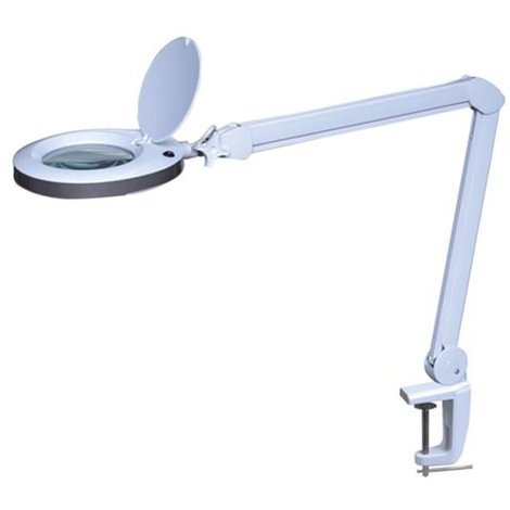 Lampe-Loupe Led 8 Dioptries - 8 W - 80 Leds - Blanc