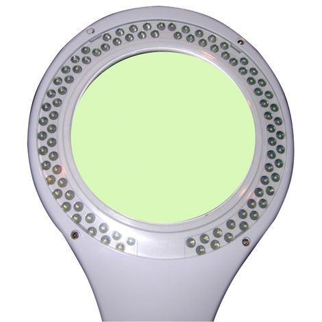 Lampe-loupe LED étau lentille 127 mm 5 + 8 dioptries (90 LEDS), 5 Watts
