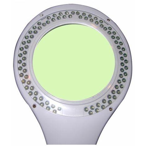 Lampe-loupe LED étau lentille 127 mm 5 dioptries (90 LEDS) 5 Watts