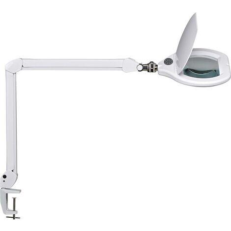 Lampe loupe LED Maul crystal 8266002 LED intégrée Puissance: 17 W blanc lumière du jour