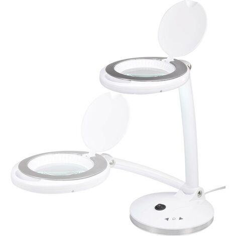 Lampe loupe LED TOOLCRAFT 1425137 LED intégrée Puissance: 5 W blanc lumière du jour N/A