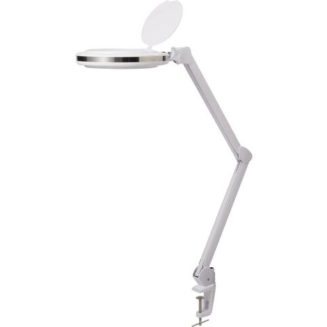 Lampe loupe LED TOOLCRAFT 2249715 TO-6749145 Puissance: 10 W blanc chaud, blanc froid