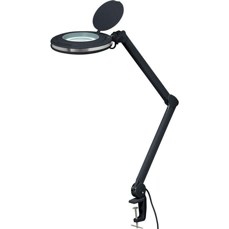 Toolcraft 2249716 Lampe Loupe Led Noire 5 127 Mm Avec Support De Fixation 3D 1.75X To-6749148