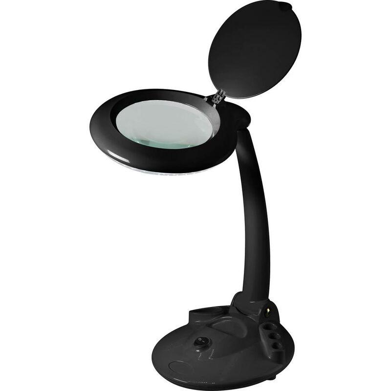Lampe Loupe Led Toolcraft To-6394491 Facteur De Grossissement: 1.75 X Taille De La Lentille: (Ø) 120 Mm Eec: Led 1 Pc(S)