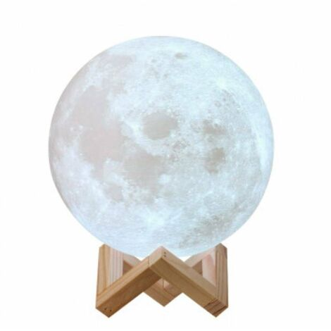 Lampe lune LED tactile
