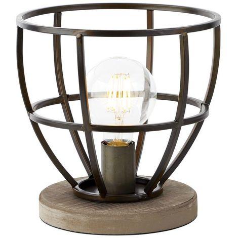 Lampe MATRIX 1x60W Noir antique