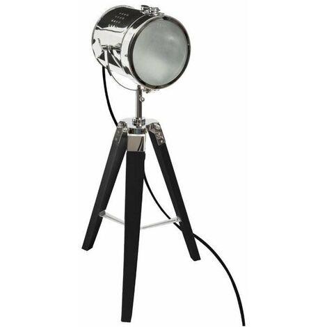 Lampe Métal/Bois Ebor - Atmosphera