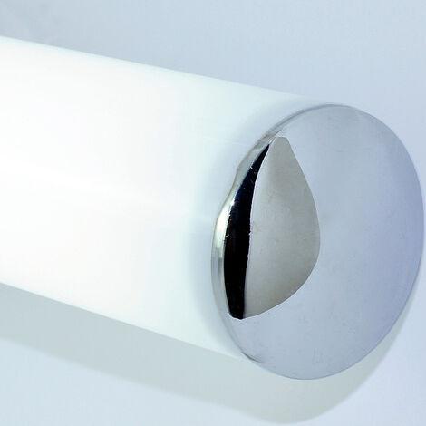 """main image of """"Lampe Miroir Salle de Bain 80cm - 12W 1000Lumen Applique Murale LED, Blanc Naturel 4000K, IP44 Imperméable, Non Scintillement, Super Lumineux, Lampe de mur chambre pour Maquillage"""""""