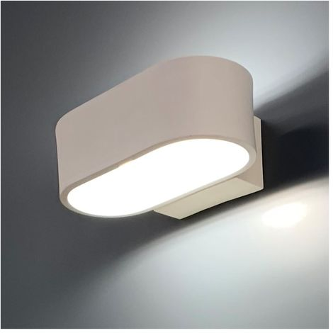 Cm Led Dro Y9iedh2w Lampe 17 Ovale Murale Aluminium SUGpzqMV