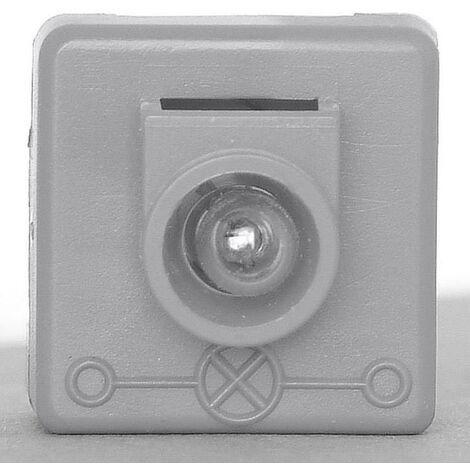 Lampe néon 1 pièce Kopp HK05 & HK07 321224046 Insert gris 1 pc(s) X919661