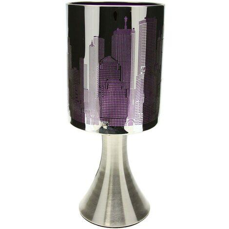 Lampe New York violette