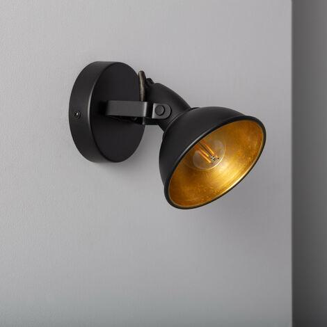 Lampe Orientable Emer 1 Spot Noir Noir - Noir