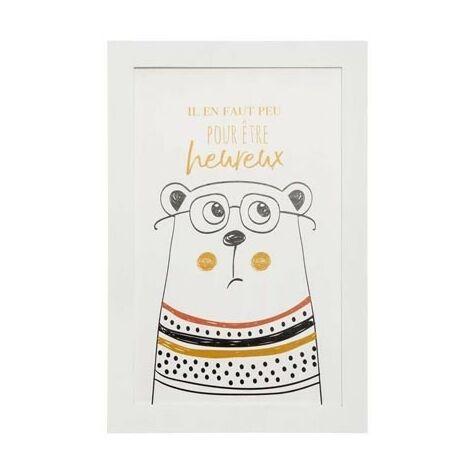 Lampe pied bois et pompons