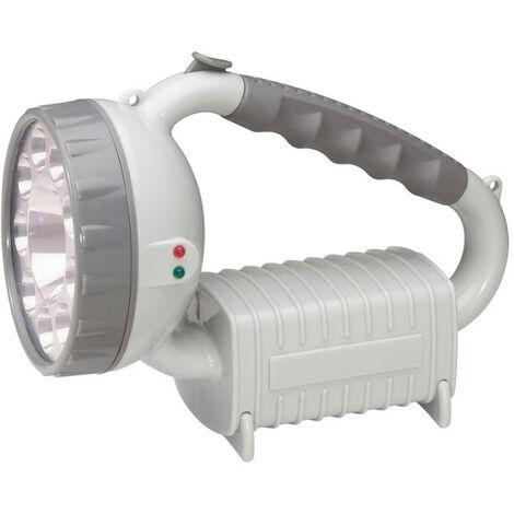 Lampe portable d'intervention plastique à LEDs avec 3 modes de fonctionnement (060797)