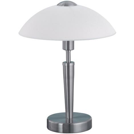 Lampe sensitive-touch Solo Eglo - E14 - Acier