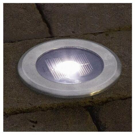 Lampe solaire encastrable 6 pc Polarlite RVB s