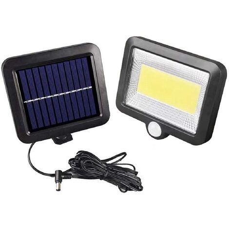 """main image of """"Lampe solaire extérieure,LED Lampe solaire étanche avec lampe de sécurité à détecteur de mouvement pour jardin, escalier, extérieur, terrasse, nouvelle version de terrasse"""""""