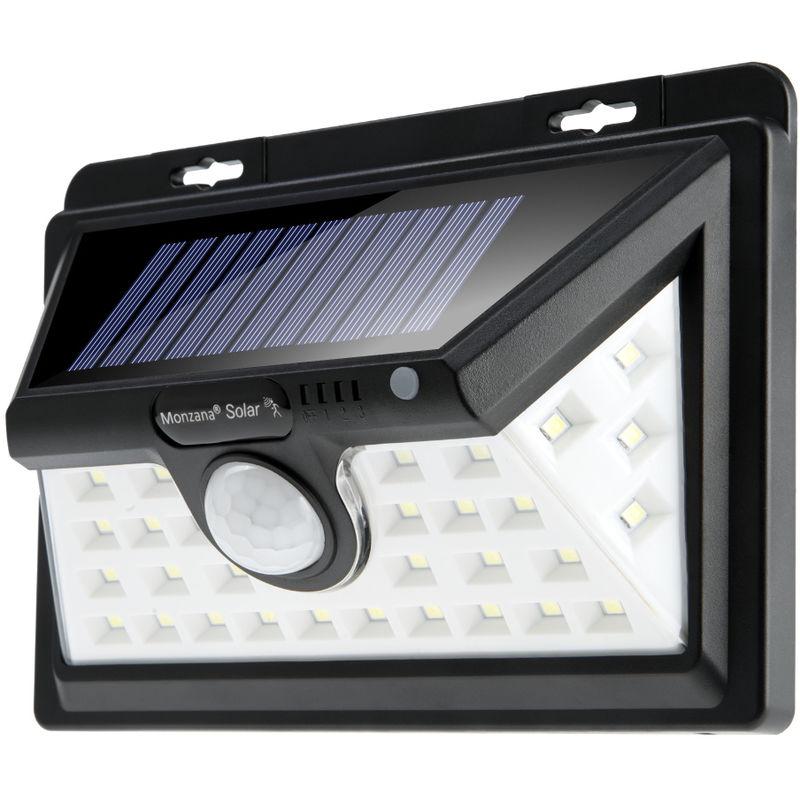 acier inoxydable Solaire De Jardin Éclairage Lampe Solaire Lampe Solaire Avec Détecteur mvt