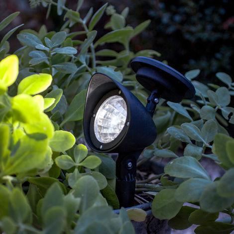 Lampe Spot Solaire à LED Blanches pour Jardin de Lights4fun