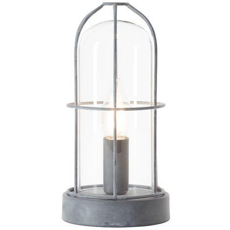 Lampe STORM 1x40W E14 Béton gris