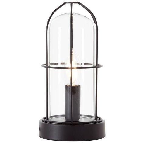 Lampe STORM 1x40W E14 Noir