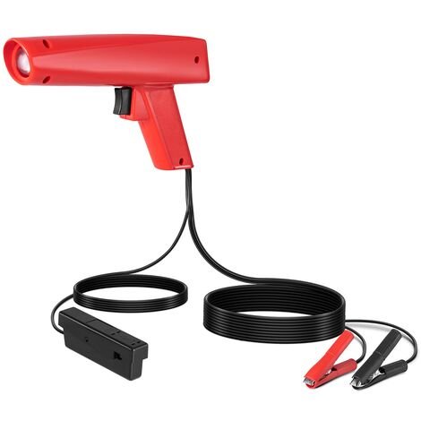 Lampe Stroboscopique Pistolet Point Allumage Professionnel Moteur Essence 12v