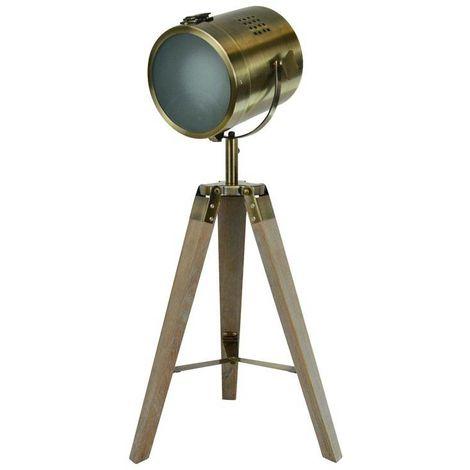 """Lampe sur pied """"Bogart"""" bronze"""