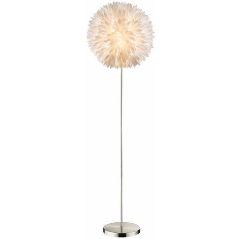 """main image of """"Lampe sur pied design chambre d'amis fleurs boule lampe prise interrupteur 1x E27 Globo 15115S"""""""