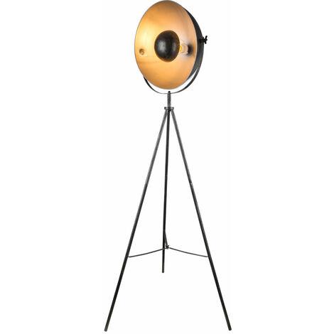 Lampe sur pied Plafonnier Projecteur de plancher Plancher Brillante Trépied Lampe DIMMABLE en kit avec ampoules LED RGB