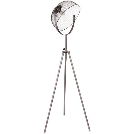 Lampe sur pied pour trépied télécommande Lampe à cage réglable en hauteur à 3 pieds réglable en kit avec éclairage LED RGB