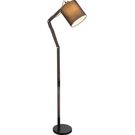 Lampe sur pied réglable avec télécommande, lampe à bois réglable dans un ensemble comprenant des ampoules à LED RVB