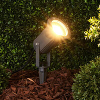 Lampe sur piquet 'Spiky' en aluminium