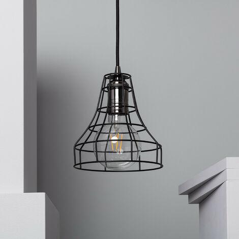 Lampe Suspendue Clapton Noir