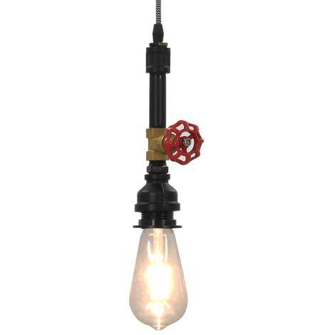 Lampe suspendue Design de robinet Noir E27